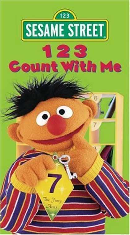 Bestselling Movies (2006) - Sesame Street - 123 Count With Me