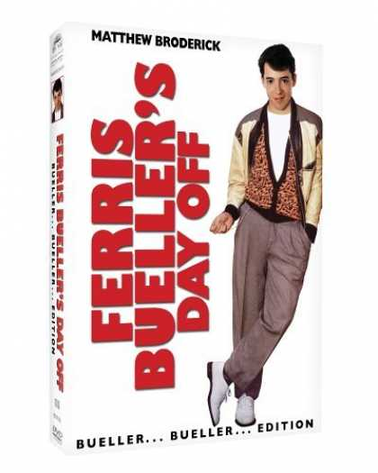 Bestselling Movies (2006) - Ferris Bueller's Day Off - Bueller Bueller Edition
