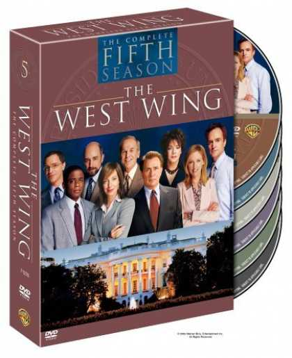 Bestselling Movies (2006) - The West Wing - The Complete Fifth Season by Jason Ensler
