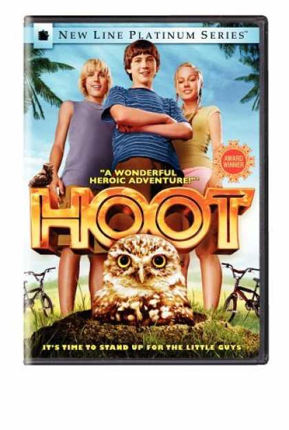 Bestselling Movies (2006) - Hoot (New Line Platinum Series) by Wil Shriner