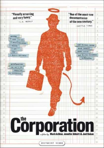 Bestselling Movies (2006) - The Corporation by Jennifer Abbott