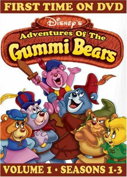 Bestselling Movies (2006) - Adventures of the Gummi Bears, Vol. 1 - Seasons 1-3 by Art Vitello