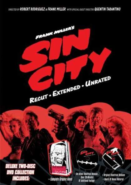 Bestselling Movies (2006) - Frank Miller's Sin City (Recut, Extended, Unrated) by Frank Miller (II)