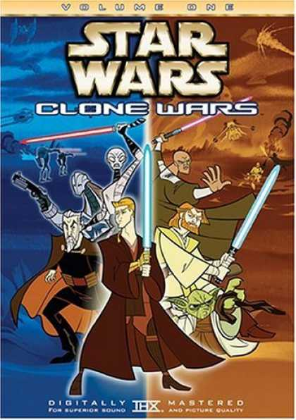 Bestselling Movies (2006) - Star Wars - Clone Wars, Vol. 1 (Animated) by Genndy Tartakovsky