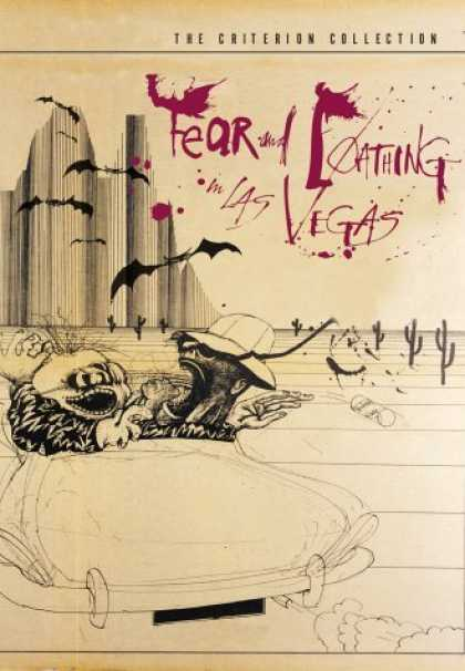 Bestselling Movies (2006) - Fear and Loathing in Las Vegas - Criterion Collection by Terry Gilliam