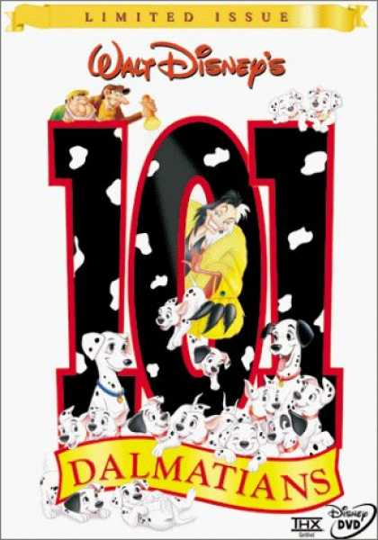Bestselling Movies (2006) - 101 Dalmatians (Limited Issue) by Hamilton Luske