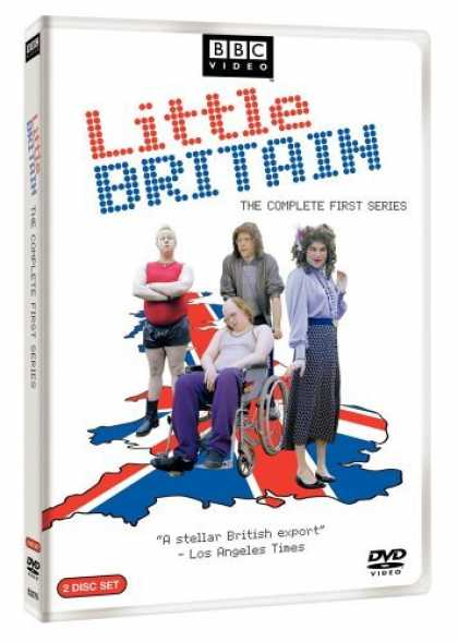 Bestselling Movies (2006) - Little Britain - The Complete First Series by Steve Bendelack