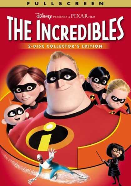 Bestselling Movies (2006) - The Incredibles (Full Screen 2-Disc Collector's Edition)