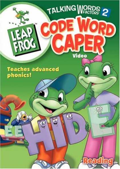 Bestselling Movies (2006) - Leap Frog - Talking Words Factory 2 - Code Word Caper