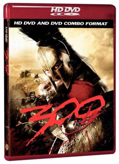 Bestselling Movies (2007) - 300 (Combo HD DVD and Standard DVD) [HD DVD] by Zack Snyder