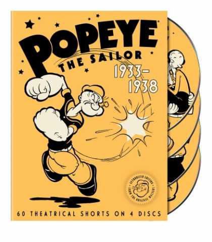 Bestselling Movies (2007) - Popeye the Sailor: 1933-1938, Vol. 1