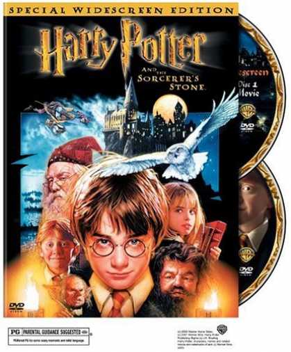 Bestselling Movies (2007) - Harry Potter and the Sorcerer's Stone (Two-Disc Special Edition) (Harry Potter 1