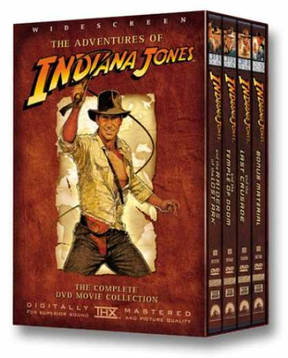 Bestselling Movies (2007) - The Adventures of Indiana Jones - The Complete DVD Movie Collection (Widescreen
