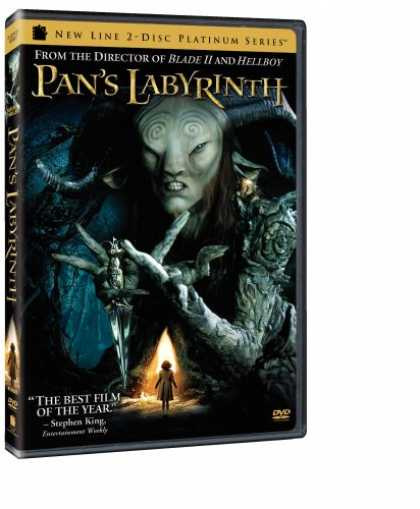 Bestselling Movies (2007) - Pan's Labyrinth (New Line Two-Disc Platinum Series) by Guillermo del Toro