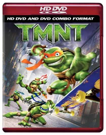 Bestselling Movies (2007) - TMNT (Combo HD DVD and Standard DVD) [HD DVD] by Kevin Munroe