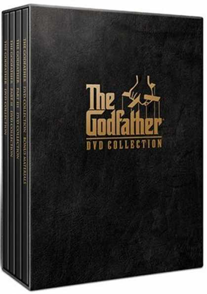 Bestselling Movies (2007) - The Godfather DVD Collection (The Godfather/ The Godfather - Part II/ The Godfat