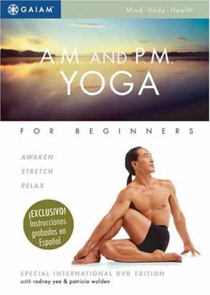 Bestselling Movies (2007) - A.M. and P.M. Yoga for Beginners by Steve Adams