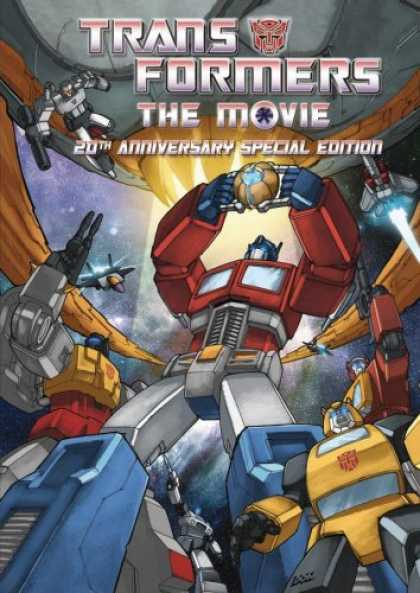 Bestselling Movies (2007) - The Transformers - The Movie (20th Anniversary Special Edition) by Nelson Shin