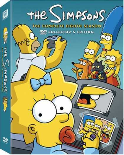 Bestselling Movies (2007) - The Simpsons - The Complete Eighth Season