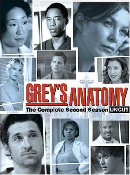 Bestselling Movies (2007) - Grey's Anatomy - The Complete Second Season
