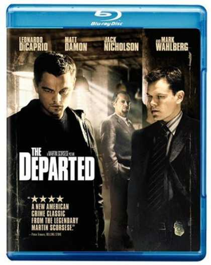 Bestselling Movies (2007) - The Departed [Blu-ray] by Martin Scorsese