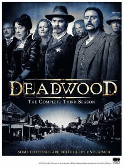 Bestselling Movies (2007) - Deadwood - The Complete Third Season by Michael Almereyda