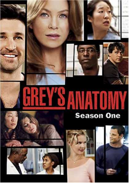 Bestselling Movies (2007) - Grey's Anatomy - The Complete First Season
