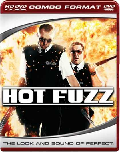 Bestselling Movies (2007) - Hot Fuzz (Combo HD DVD and Standard DVD) [HD DVD]
