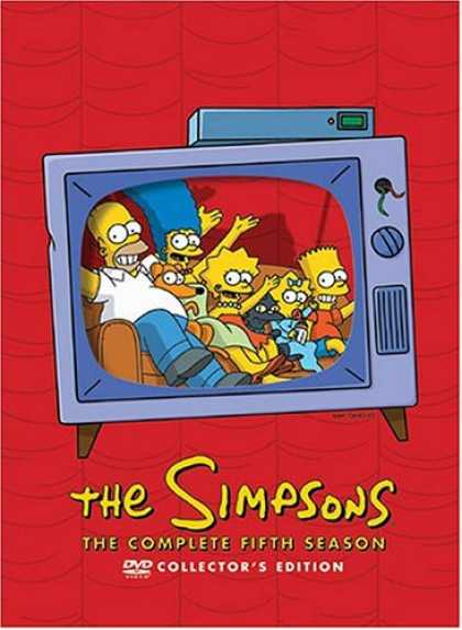 Bestselling Movies (2007) - The Simpsons - The Complete Fifth Season