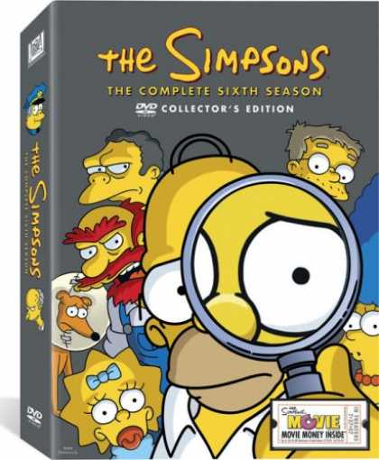 Bestselling Movies (2007) - The Simpsons - The Complete Sixth Season