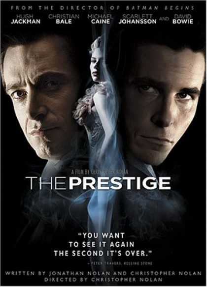 Bestselling Movies (2007) - The Prestige by Christopher Nolan