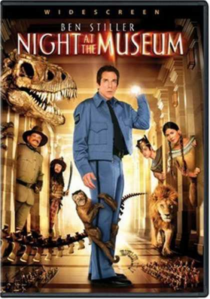 Bestselling Movies (2007) - Night at the Museum (Widescreen Edition) by Shawn Levy