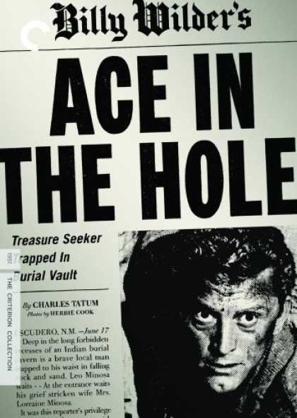 Bestselling Movies (2007) - Ace in the Hole - Criterion Collection by Billy Wilder