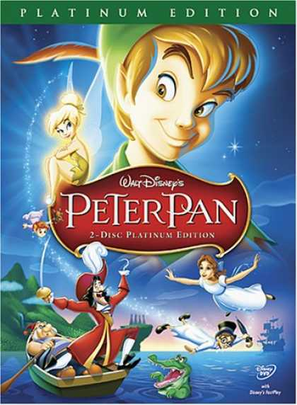 Bestselling Movies (2007) - Peter Pan (2-Disc Platinum Edition) by Hamilton Luske