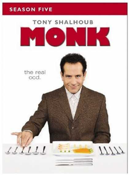 Bestselling Movies (2007) - Monk - Season Five by Jerry Levine