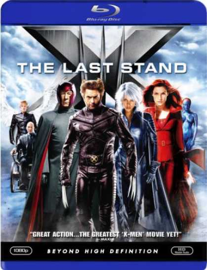 Bestselling Movies (2007) - X-Men - The Last Stand [Blu-ray]