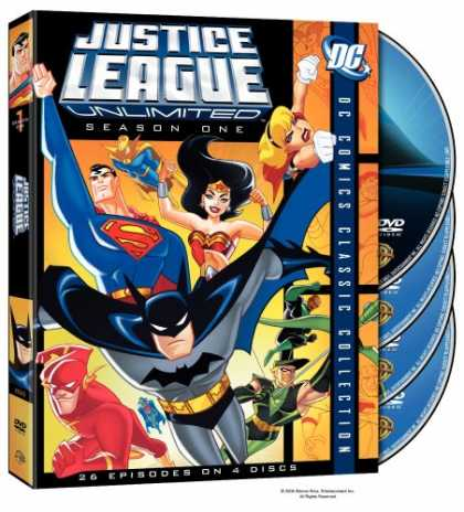 Bestselling Movies (2007) - Justice League Unlimited - Season One (DC Comics Classic Collection) by Bruce W.