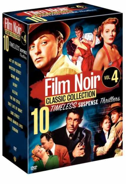 Bestselling Movies (2007) - Film Noir Classic Collection, Vol. 4 (Act of Violence / Mystery Street / Crime W