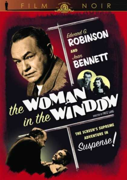 Bestselling Movies (2007) - The Woman in the Window (MGM Film Noir)