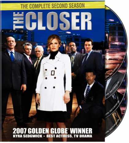 Bestselling Movies (2007) - The Closer - The Complete Second Season