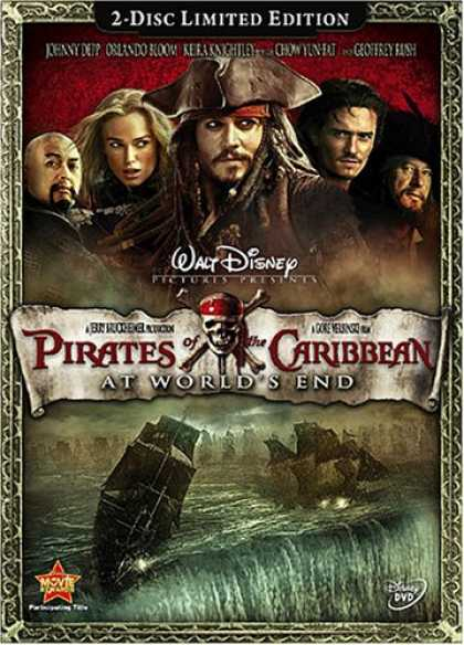 Bestselling Movies (2007) - Pirates of the Caribbean - At World's End (Two-Disc Limited Edition) by Gore Ver