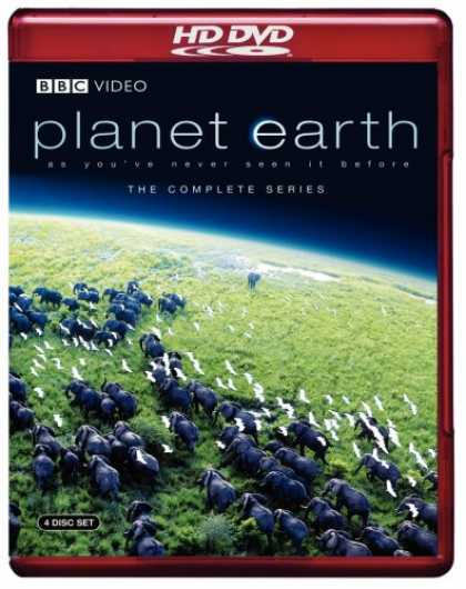 Bestselling Movies (2007) - Planet Earth - The Complete BBC Series [HD DVD]