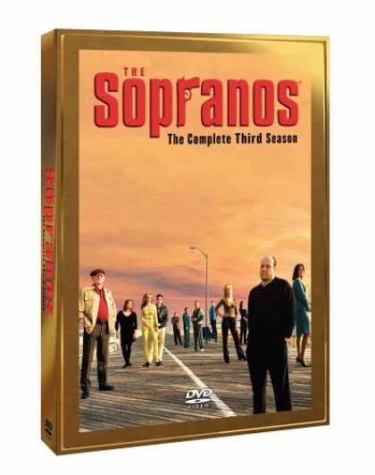 Bestselling Movies (2007) - The Sopranos: The Complete Third Season