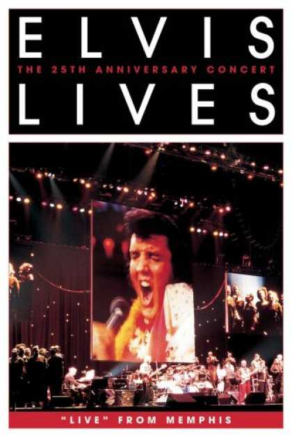 "Bestselling Movies (2007) - Elvis Lives- The 25th Anniversary Concert ""Live"" From Memphis (DVD Jewel Case)"