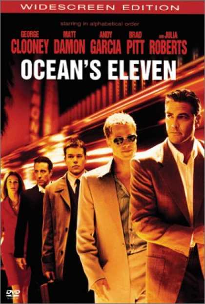 Bestselling Movies (2007) - Ocean's Eleven (Widescreen Edition) by Steven Soderbergh