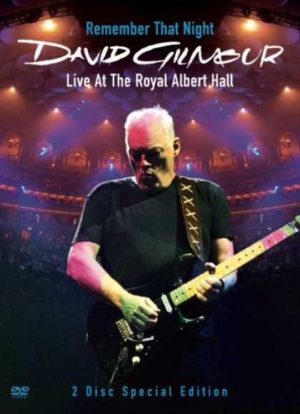 Bestselling Movies (2007) - David Gilmour: Remember That Night - Live from the Royal Albert Hall