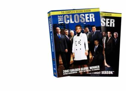 Bestselling Movies (2007) - The Closer - The Complete First Two Seasons