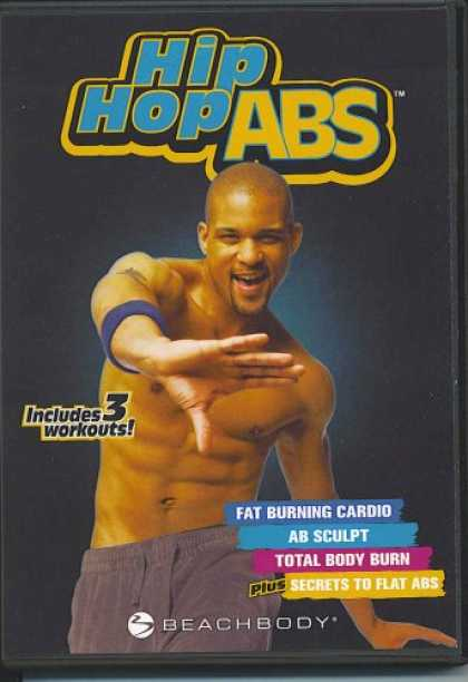 Bestselling Movies (2007) - HIP HOP ABS Package - Fat Burning Cardio, Ab Sculpt, Total Body Burn, Secrets to