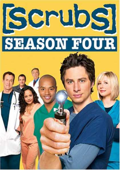 Bestselling Movies (2007) - Scrubs - The Complete Fourth Season
