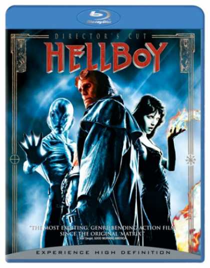 Bestselling Movies (2007) - Hellboy [Blu-ray] by Guillermo del Toro